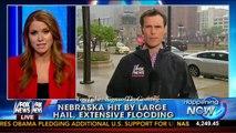 Extreme Weather : Devastating Derecho Winds, Flooding, Tornados and Hail slams Nebraska (Jun04,2014)