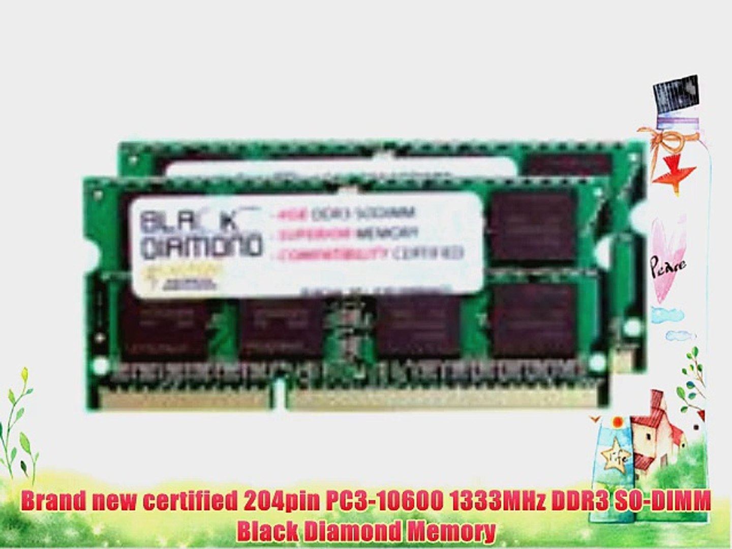 Laptop Memory for HP Pavilion 2000-428dx Notebook PC 2x 2GB 4GB DDR3