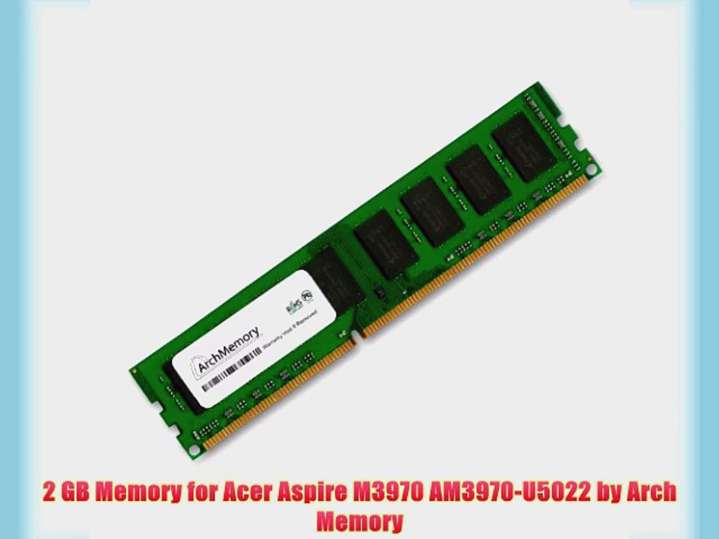 Verwonderend 2 GB Memory for Acer Aspire M3970 AM3970-U5022 by Arch Memory CY-66