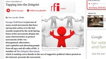 Radio France Internationale interview with The Zeitgeist Movement - France, Occupy Wall St.