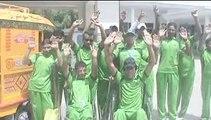 پورٹس فنڈ سے معذورکھلاڑیوں کو امداد نہ دینے اور دیگر مطالبات کے حق میں معذور کھلاڑیوں نے اسسٹنٹ کمشنر کے آفس کے باہراحتج