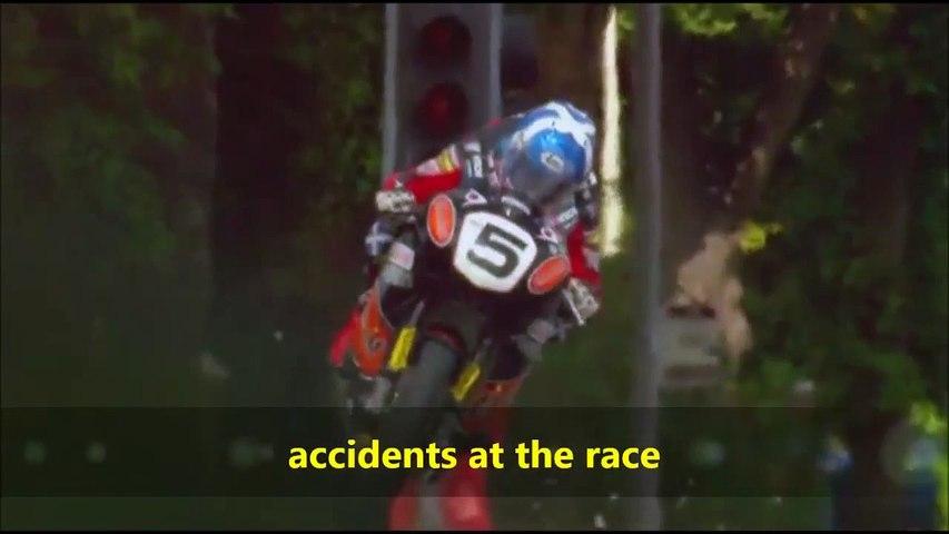 Plus gros accidents de moto sur la course la plus rapide du monde  Isle of Man - TT race