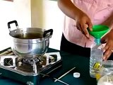 Experiment Chemistry Mixture Of Flour and Salt   chemistry science experiments, chemistry experiment