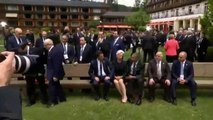▶ President Obama Ignores & Snubs Iraqi Prime Minister Haider al Abadi at G7 Summit - VIDEO -