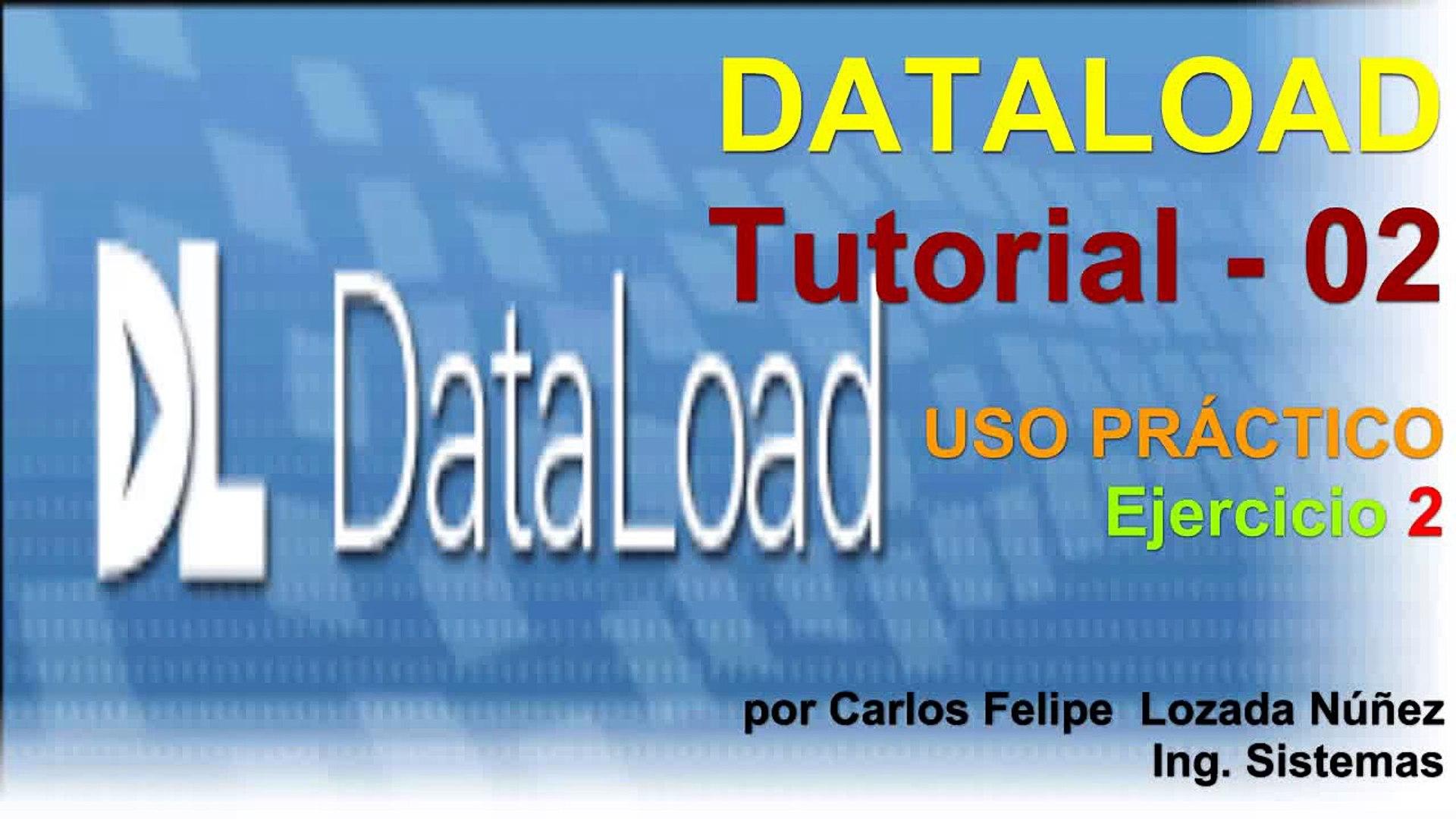 Dataload Tutorial 02 - Ejercicio 02 - PeopleNet Meta4
