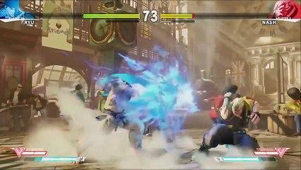 Street Fighter V (PS4) - Ryu x Nash - Gameplay (1) de Street Fighter V