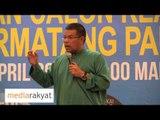 Saifuddin Nasution: Kita Buktikan UMNO Salah, Salah Dan Salah