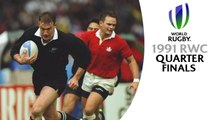 CLASSIC MATCHES! Rugby World Cup 1991 quarter finals 3 & 4