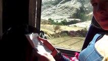 Bolivia   Ferrobus Potosi to Sucre   Met de treinbus van Potosi naar Sucre