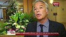 François Rebsamen, VRP du dialogue social au Sénat
