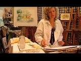 Canson® présente : Peindre une coupe de pommes à l'aquarelle par A. Grasset