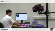 ATOS Triple Scan - 3D digitizer scanning large-scale, medium size and small objects