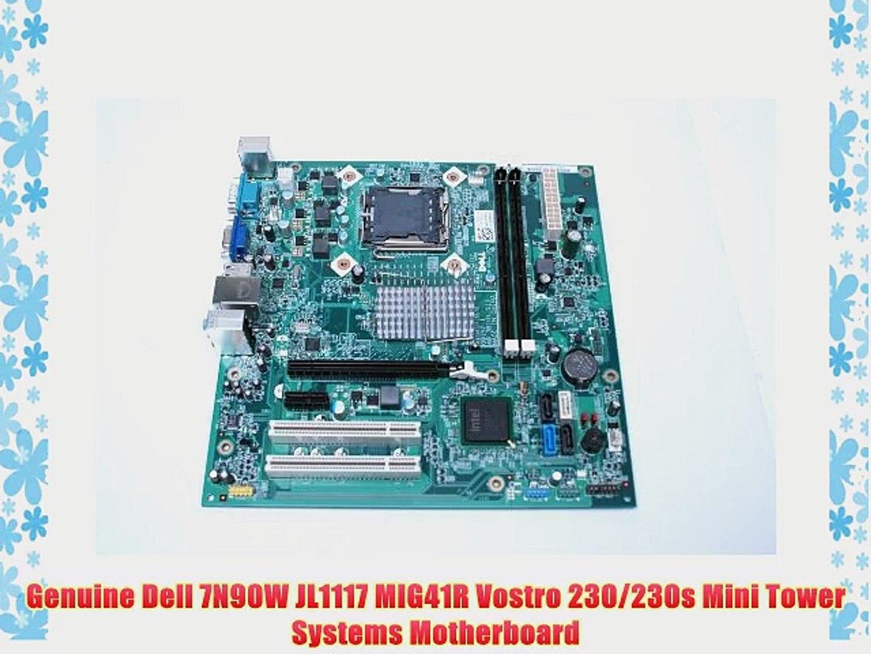 Dell New Vostro 230 Integrated Motherboard LGA 775 DDR3 1333MHz MIG41R