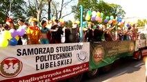 Juwenalia 2013 - Lublin. Korowód 8.05.2013r.