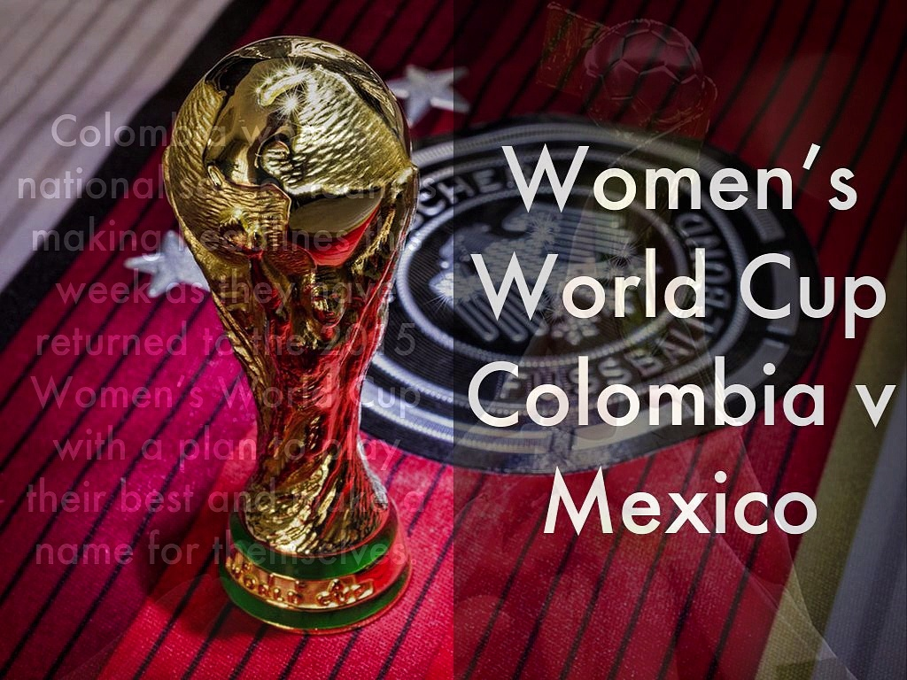 Women's World Cup | Colombia v Mexico