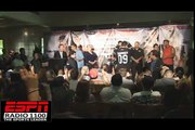 Nick Diaz gets mouthy at weigh-in with Frank Shamrock