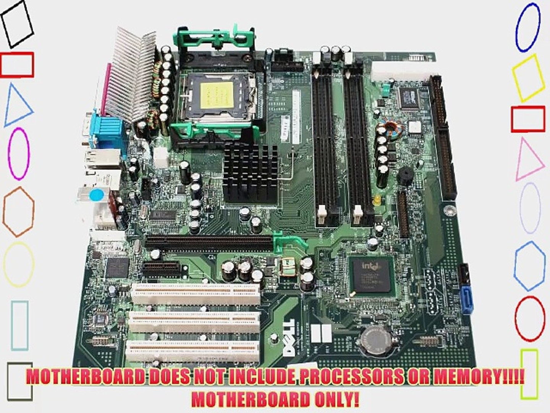 Dell Optiplex GX280 Small Mini Tower (SMT) Motherboard Mainboard Systemboard Compatible Dell
