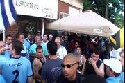 Festejo de Uruguay disuelto por la policia de Orange New Jersey