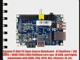 Banana Pi Mini PC Open Source Mainboard - A7 DualCore / 1GB DDR3 / HDMI CVBS LVDS/RGBDual core