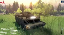Spintires - Spin Tires   AMPHIBIOUS ARMORED VEHICLE   Spintires Mod Spotlight