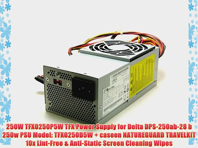 250 Watt for Dell Inspiron 531s 530s SFF Slimline 250w Power Supply Brand New