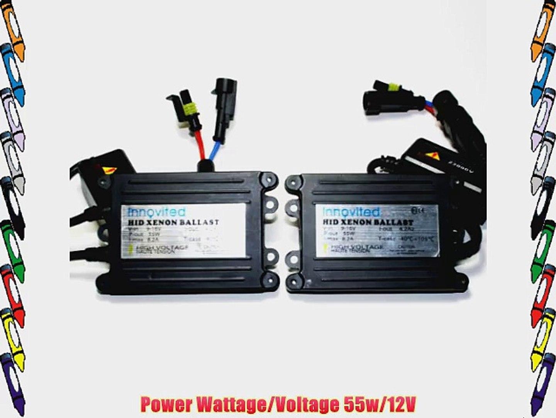 Innovited 2pcs 55w Ac HID Slim Digital Replacement Ballast Universal Fit