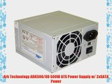 Ark Technology ARK500/8D 500W ATX Power Supply w/ 2xSATA Power