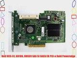 Dell UCS-51 GU186 UN939 SAS 5i SAS5/iR PCI-e Raid Poweredge