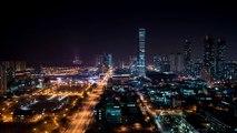 [Timelapse] Korea timelapse, Nightview of songdo. Incheon