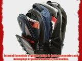 SwissGear The Cobalt 16 Padded Laptop Backpack/School Travel Bag (Blue)