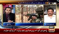 Classic Chitrol Of Spokes Person Of Indian Defense Minister Lt. Col Anil Bhat By Waseem Badami