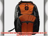 SwissGear? Sherpa 16 Padded Laptop Backpack/School Travel Bag-Orange
