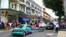 Noticieros Televisa Veracruz - Xalapa sede del foro de migración