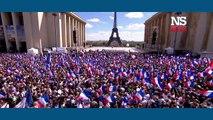 REMIX : la FRANCE FORTE au Trocadéro