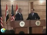 Irak: Schuh-Angriff auf George W. Bush - Iraq: President Bush attacked with shoes