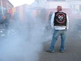 Harley Davidson Burnout