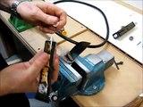 Flexible shaft for grinding and polishing machine
