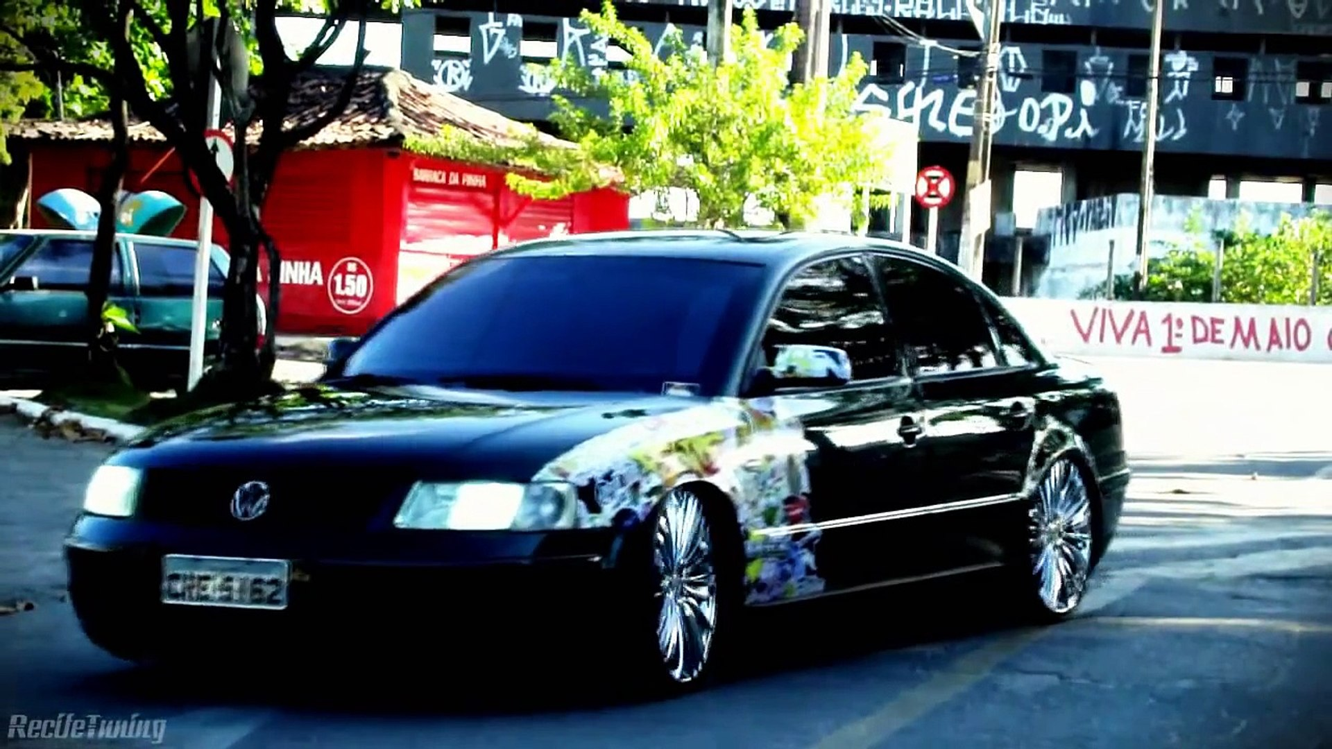 Passat Alemao Blindado Aro 20 Fixa Recife Tuning Video Dailymotion