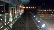 AirTrain JFK HD: Night Ride from Jamaica Station to Terminal 5 Station