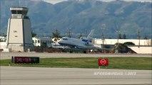 Dassault Falcon 900 [N410KA] and Dassault Falcon 2000EX [N157AL] at KVNY