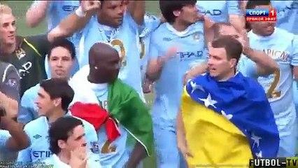 Manchester City 3-2 Queens Park Rangers England - Barclays Premier League