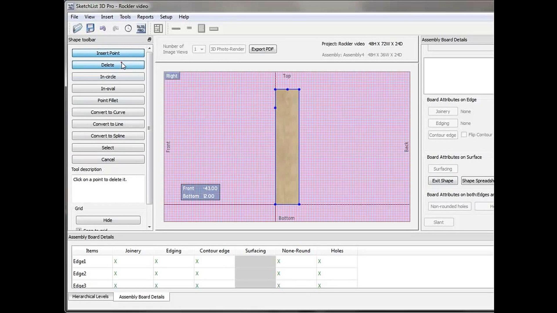 Sketchlist 3d Furniture Design Software Version 3