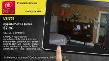 A vendre - appartement - SAUMUR (49400) - 3 pièces - 82m²