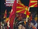 Macedonian protest against greece greek stupid hellas