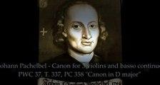 """Johann Pachelbel - Canon in D major """"Pachelbel's canon"""" - HD Classical Music Romantic Violin [FULL E"""