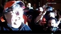 Occupy Wall Street - Michael Moore et Ben Bernanke
