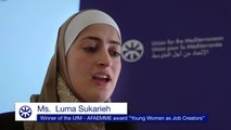 Ms. Luma Sukarieh explains how the UfM project helped her to develop her business idea