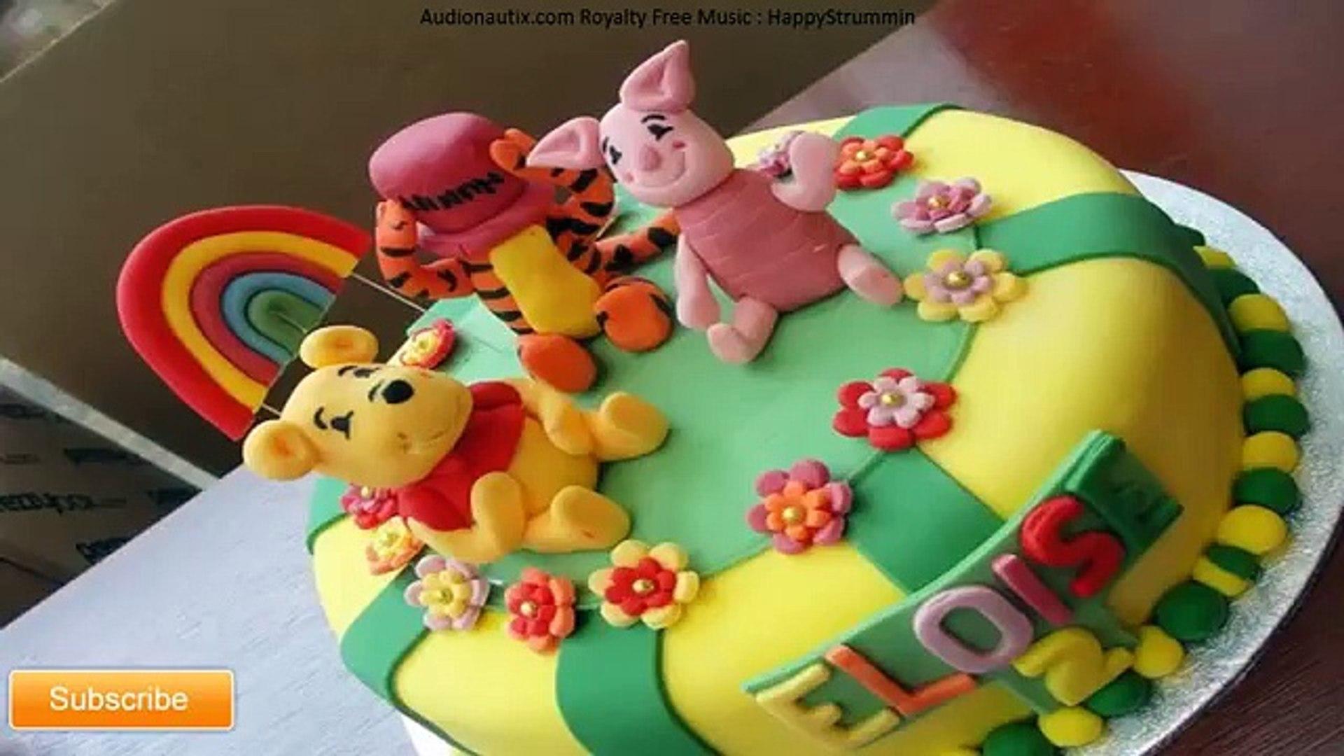 Winnie The Pooh Cakes - Yummy Cakes