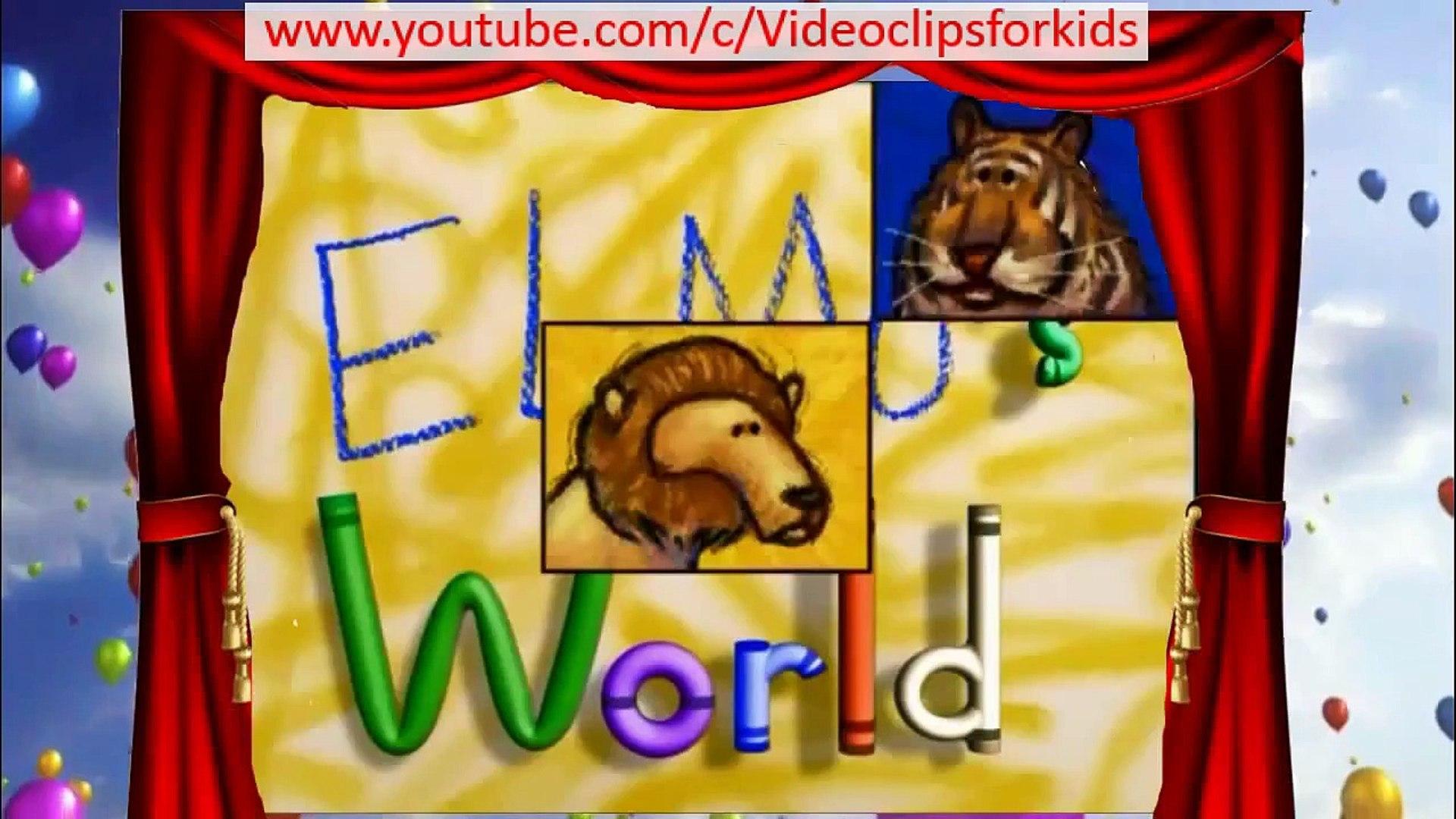 Elmo S World Wild Animals Cartoon Tv 2015
