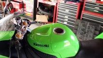 2006 Green Kawasaki Ninja 636 ZX-6R zx6r For Sale
